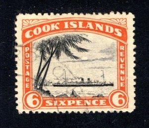 Cook Islands, Scott 121, F/VF, Used,  CV $2.50   ....... 1500076