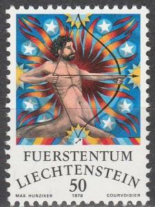 Liechtenstein #602 MNH (K938)