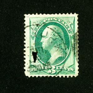 US Stamps # 136 jumbo used gem choice Scott Value $32.50