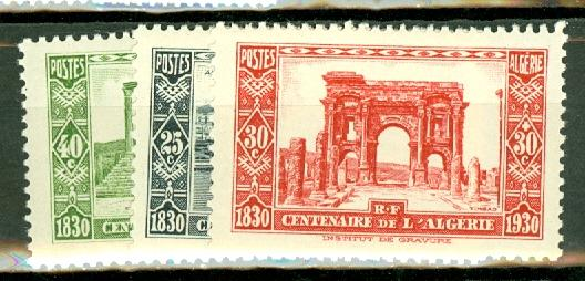 Algeria B14-26 mint CV $153, scan shows only a few