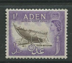 STAMP STATION PERTH Aden #62 - QEII Definitive Issue 1954  MLH  CV$0.65.