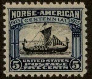 USA Norse American Centennial 5c Scott 621 MNH 60894
