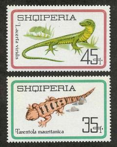 Albania 961-962 Mint VF NH
