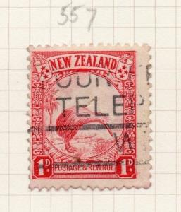 New Zealand 1935 Early Issue Fine Used 1d. 281775