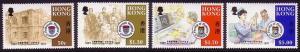 Hong Kong Medical Centenaries 4v 1987 MNH SG#555-558
