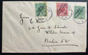 1898 Omaruru German East Africa Cover To Berlin Germany