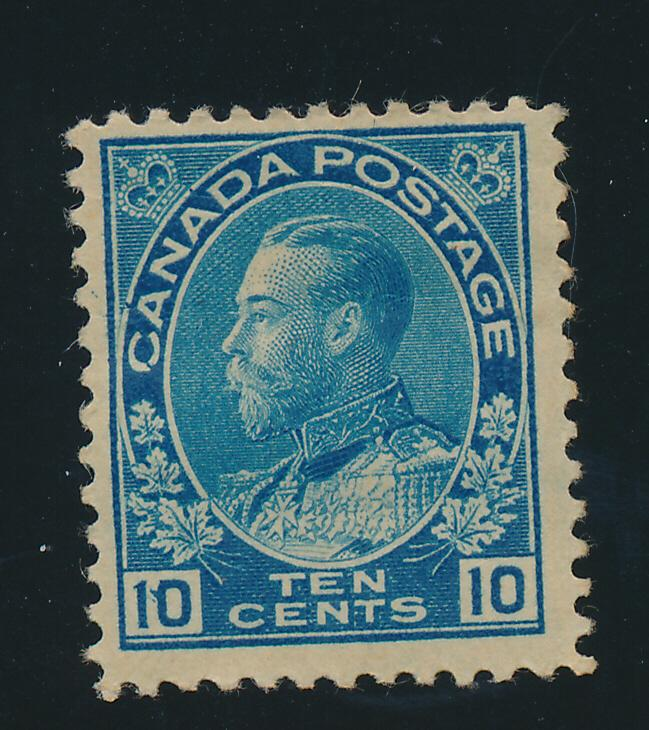 Canada Stamp Scott #117, Mint Hinged, Remnant - Free U.S. Shipping, Free Worl...