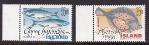 Iceland, Fauna, Fishes MNH / 1999