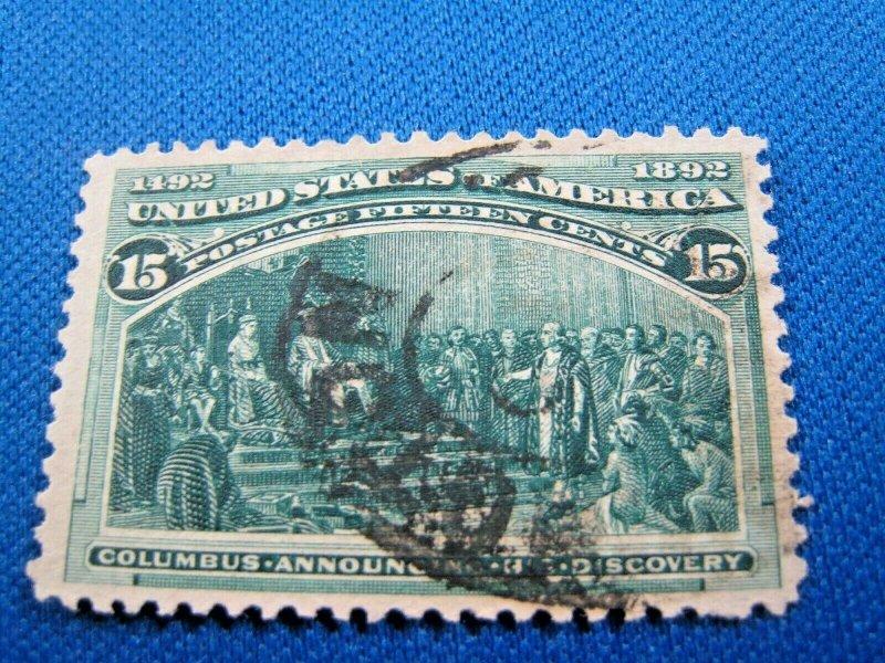 UNITED STATES,  1893   SCOTT #238   -  Used