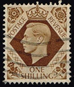 Great Britain #248 King George VI; Used (1.00)