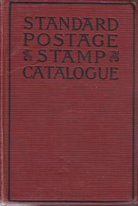 1923 Scott Standard Postage Stamp Catalogue, hardcover.
