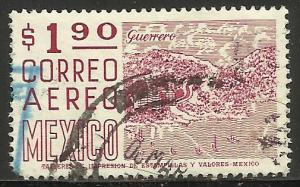 Mexico Air Mail 1975 Scott# C447 Used (corner)