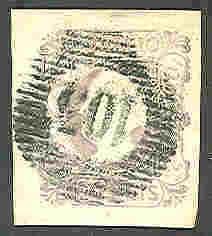 PORTUGAL #4 Used, signed Bloch, huge stamp, XF Gem, Scott $1,900.00