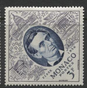 Monaco - Scott 356 -FIPIX -1956 - MLH - Single 3f Stamp