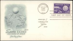 United States, District of Columbia, First Day Cover, Space