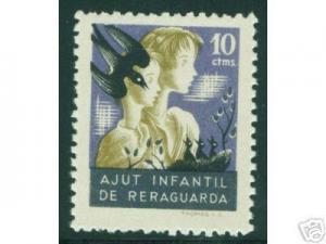 SPAIN Civil War Republic GG2294a MH* Unlisted