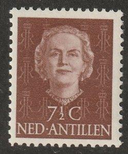 Netherlands Antilles 1954 Sc 215 MNH**