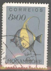 Mozambique Scott 349 Used Fish