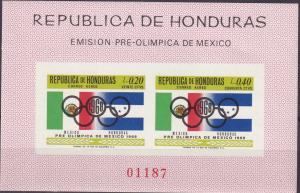 Honduras #C435z  MNH Imperf  CV $16.00 (A19213)