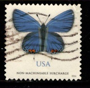 #5136 Eastern Tailed Blue Btterfly - Used (off Paper)