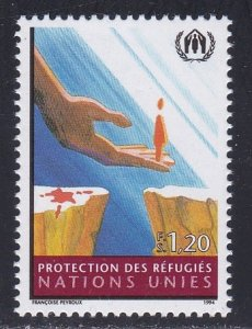 United Nations - Geneva # 250, Protection for Refugees, NH, 1/2 Cat.
