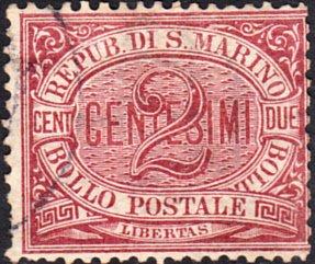 San Marino  #3 Used