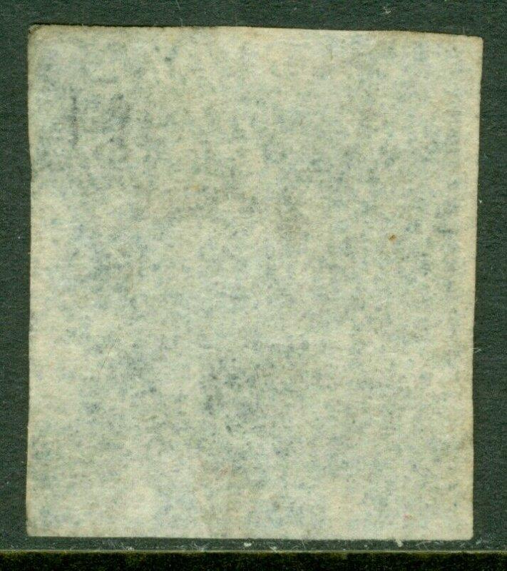 EDW1949SELL : TRINIDAD 1859 Scott #17 Very Fine, Used. 4 margins. Catalog $425.