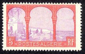 Algeria Sc# 65 MH (a) 1926-1939 5fr Definitives