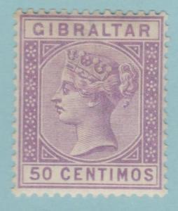 Gibraltar 34 Mint Hinged OG * - No Faults Very Fine!