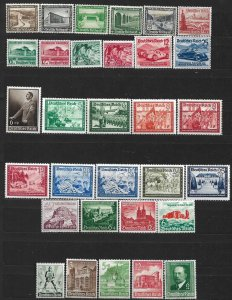 COLLECTION LOT OF #564 GERMANY 31 SEMI POSTALMNH/MH/UNUSED NO GUM  1936+ CV=$47