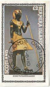 Cinderellas; Bernera, CTO, King Tutankahamun, £2 Rate, 1979