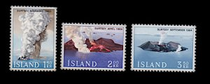 ICELAND 372-374 MH