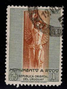 Uruguay Scott 556 used stamp