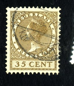 NETHERLANDS #190 USED FVF CAT $13