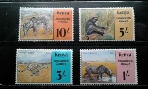 Kenya #103-105,107-117 MNH e192.3522