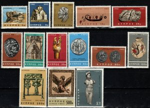Cyprus #278-91  MNH V $16.50 (X7468)