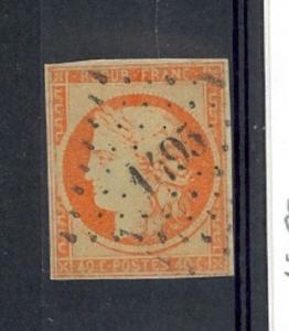 France Scott 7 Used (4 margins) Catalog Value $475.00
