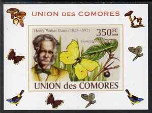 Comoro Islands 2008 Entomologists & Butterflies #2 He...