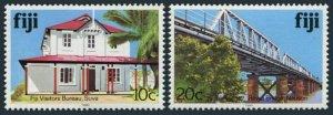 Fiji 414i,418i,MNH. 1990.Visitors' Bureau,Rewa Bridge.