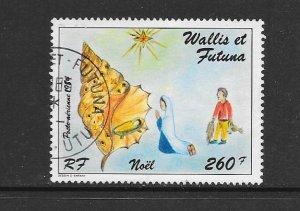 WALLIS & FUTUNA #C139  CHRISTMAS 1984  CANCELLED