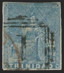 Trinidad Scott 10 Gibbons 14 Used Stamp
