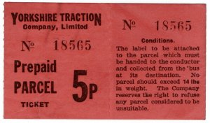 (I.B) Cinderella : Private Carrier - Yorkshire Traction 5p