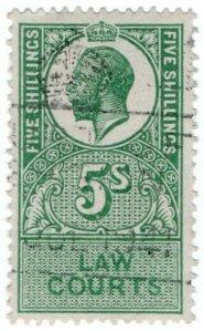 (I.B) George V Revenue : Law Courts (Scotland) 5/-