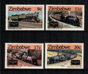Zimbabwe   487 - 490  MNH  $ 6.75