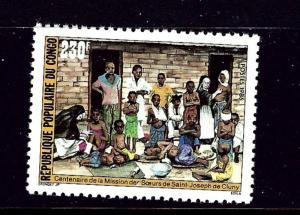 Congo Peoples Rep 757 MNH 1986 Church Mission
