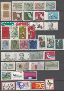 COLLECTION LOT # 2291  GERMANY 39 MNH STAMPS  1969+ CV+$31