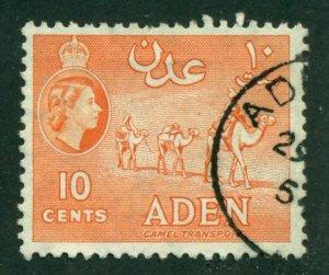 Aden 1953 #49 U SCV (2018)=$0.25