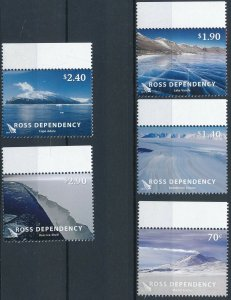 Ross Dependency 2012 #L124-8 MNH. Antarctica