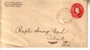 United States, Michigan, Postal Stationery