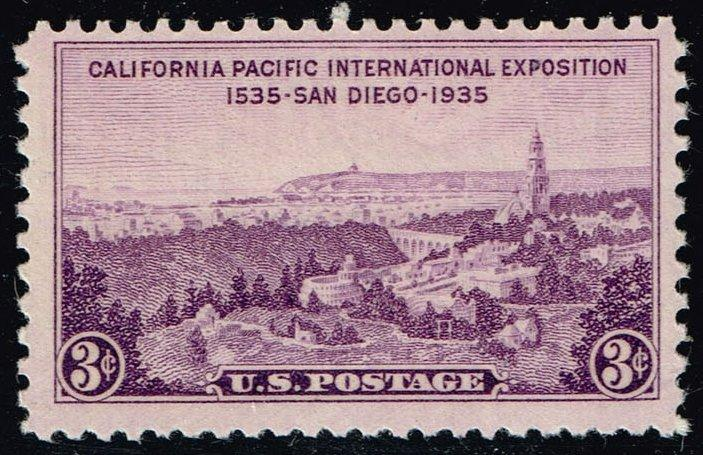 US #773 California Pacific Exposition; MNH (0.35)